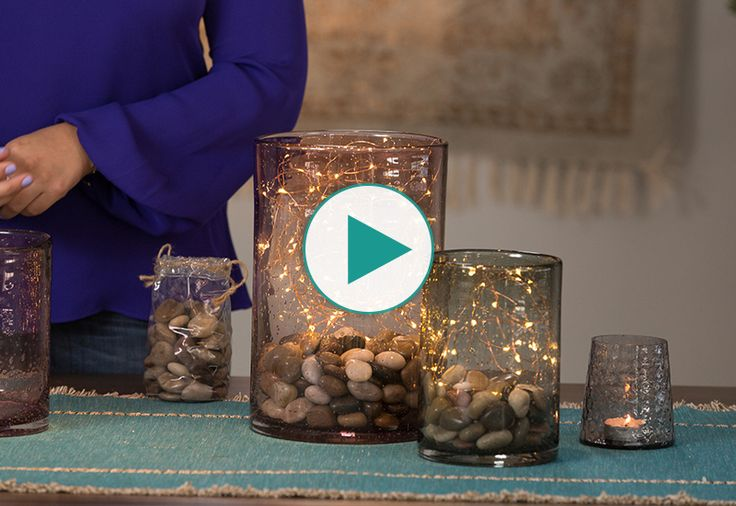 No flowers? No worries! Real Simple Home Editor Stephanie Sisco shows you how to create a no-flower centerpiece that's both rustic and whimsical.