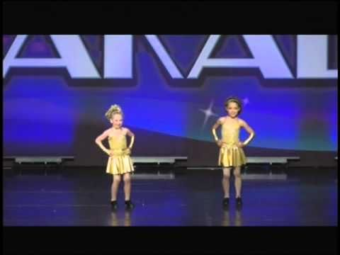 Maggie and Alyvia, ages 6 & 8, tap duet.  Received a Diamond Elite at Talent on Parade Nationals.