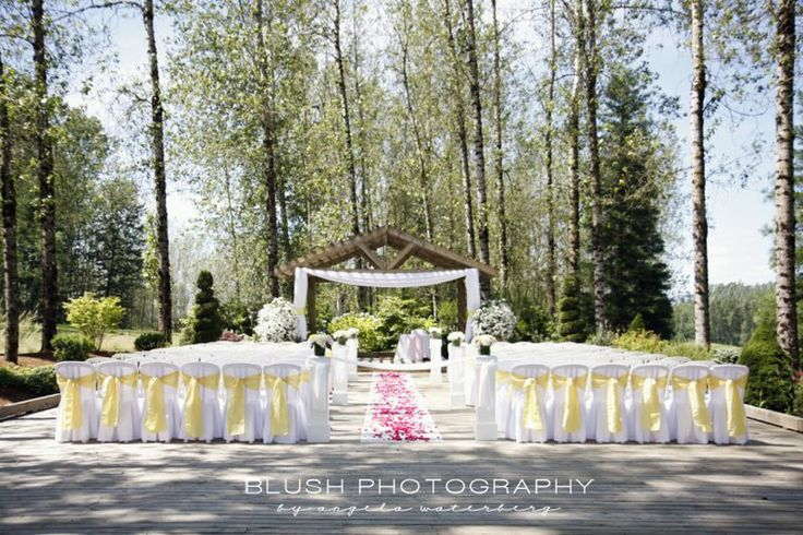 Ceremony at Redwoods Golf Course