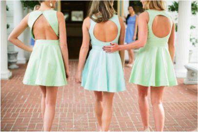 Love these dresses for sorority recruitment