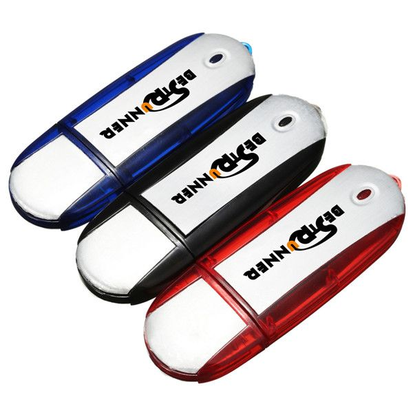 Usb 2.0 de 8 GB de bestrunner pulgar de almacenaje del palo de memoria de paseo del destello de la forma oval u disco