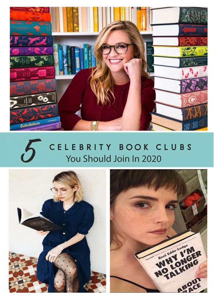 5 Celebrity Book Clubs You Should Join In 2020 Celebrity Books Book Club Books Cool Books