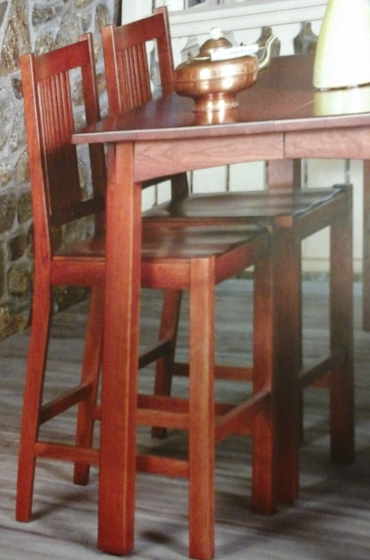 Counter Height Unfinished Chairs : Woodland side chair - wood dining chair - solid hardwood chairs and ...
