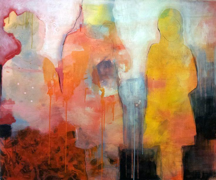 ROSER BY ANNE-BRITT KRISTIANSEN  #fineart #art #painting #kunst #maleri #bilde  https://annebrittkristiansen.com/paintings/2013/