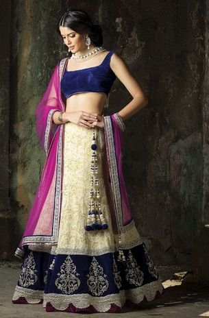 可愛すぎるインド民族衣装デザインまとめ(画像16枚)/16 images of designer lehenga | Vajra Cat