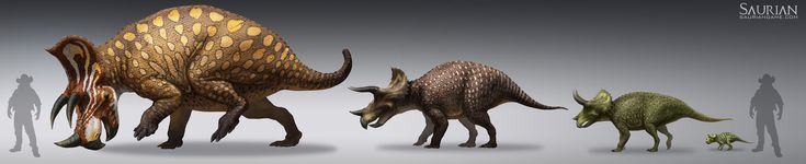 Saurian-Triceratops Lifecycle by arvalis.deviantart.com on @DeviantArt
