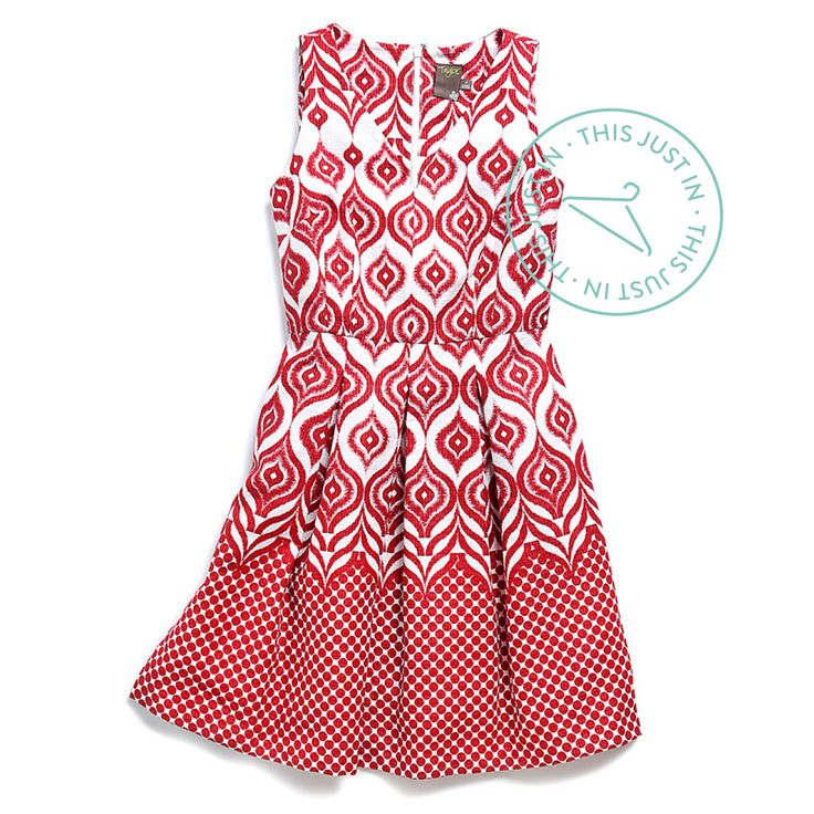 This just in: A classic silhouette meets an elevated ikat print. Loving the eye-catching details of this sundress—including the pockets! (Theodore V-Neck Dress)