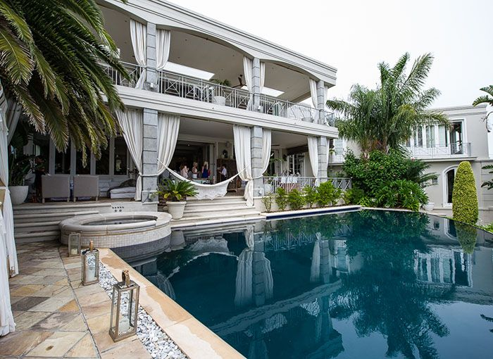 A private home in Fresnaye, Cape Town was the venue for the intimate morning.  #luxury #travel #CapeTown #opulentliving #laprairie