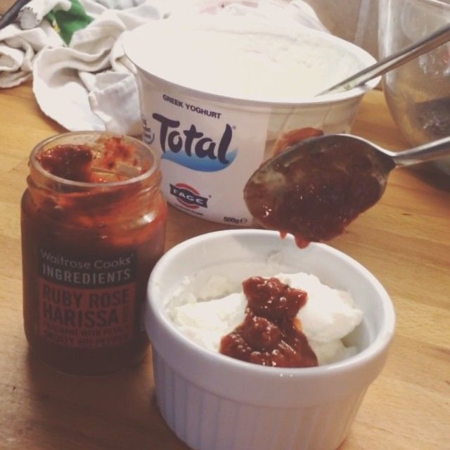 """Try these home made Feta and chilli burgers with @totalgreekyoghurt & Harissa dip! Ready in under 10 mins if you flop em on the George! #burgers…"""
