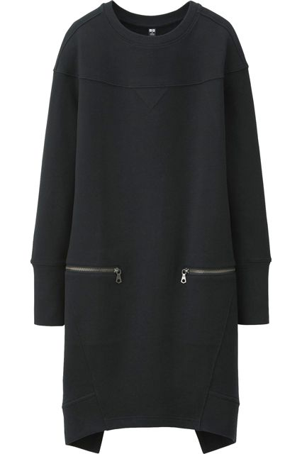 Uniqlo Women Urban Sweat Long Sleeve Dress #Refinery29