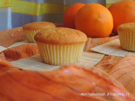 Muffin all'arancia e crema di nocciole http://maninpastaqb.blogspot.it/2015/01/muffin-allarancia-e-crema-di-nocciola.html