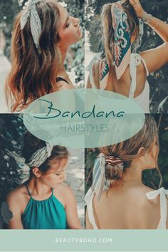 how to use bandana. bandana scarf hairstyles. messy hair. short hair. how to add accessories to hairstyle #hadasholland #bandana #bandanascarf #hairst...