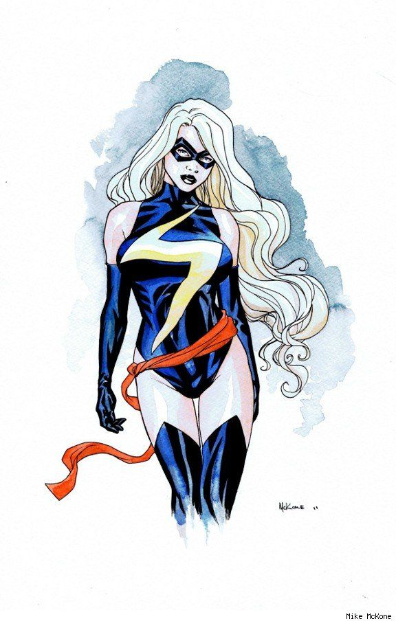 Ms Marvel By Mike Mckone Ms Marvel Captain Marvel Marvel Superheroes Captain Marvel Carol Danvers