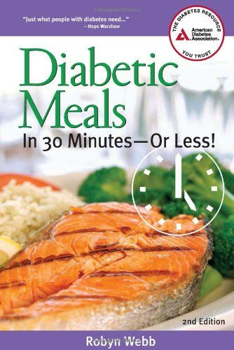 Diabetic Meals in 30 Minutes-or Less! $10.17