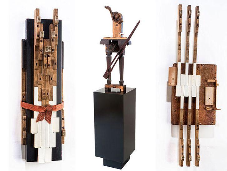 Piano As Art: Defunct Pianos Transformed Into Gorgeous Sculptu...