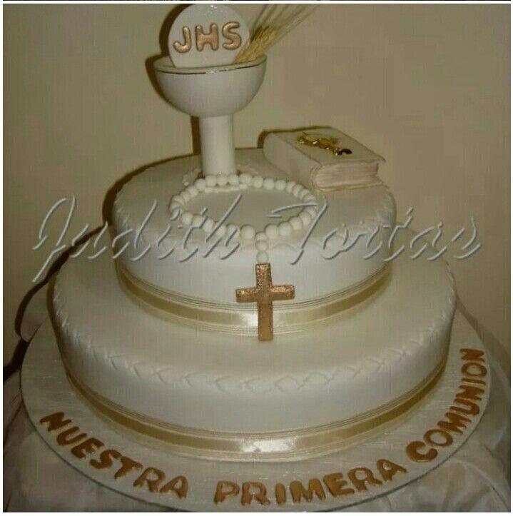 Torta Decorado Y Modelado Con Fondant Primera Comuni 243 N