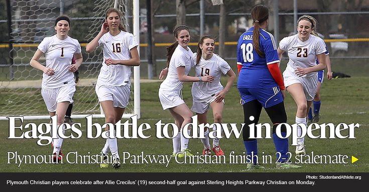 Girls soccer: Plymouth Christian 2, Sterling Heights Parkway Christian 2 photo collection by StudentandAthlete.com