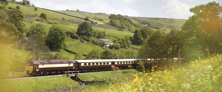The British Pullman allows you to experience it all. #Wanderlust