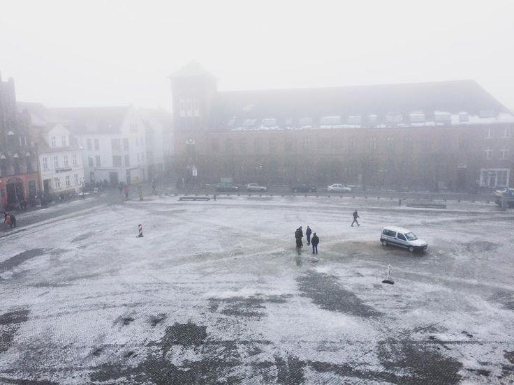 Perfect Nebeliges Greifswald ist nebelig fog mist Vorpommern