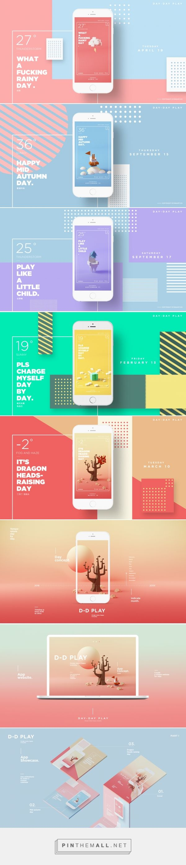 d d play app design abduzeedo design inspiration - App Design Ideas