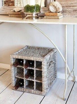 Natural Willow Wine Rack - rustic - Wine Racks - Nordic House