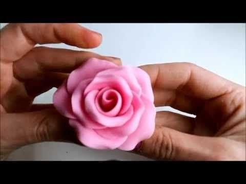 Fondant Roses : Ideas para el Día de la Madre: Rosa de fondant