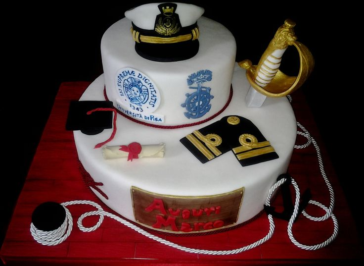 torta laurea ufficiale marina militare