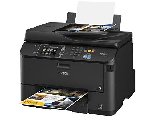 Epson WorkForce Pro WF-4630 C11CD10201 Wireless Color All-in-One Inkjet Printer with Scanner and Copier Epson