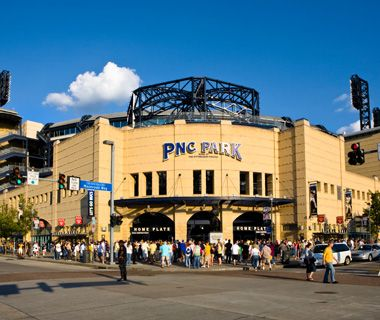 PNC Park in Pittsburgh was just named as 1 of America's best baseball stadiums by Travel+Leisure.