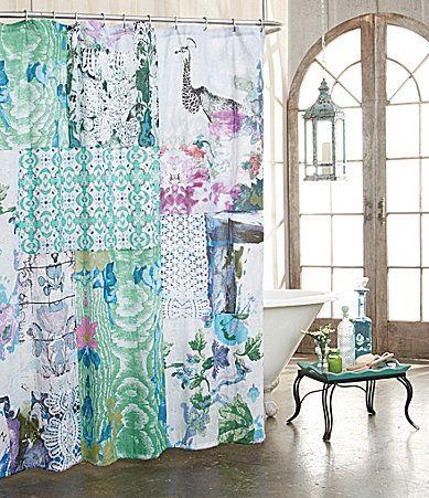 Poetic wanderlust by tracy porter ardienne shower curtain - Dillards bathroom accessories sets ...