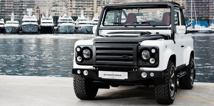 The Overfinch Defender SVX