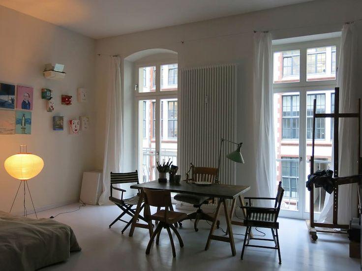 studio spacious bright calm balcony - Departamentos en alquiler en Berlín, Berlín, Alemania