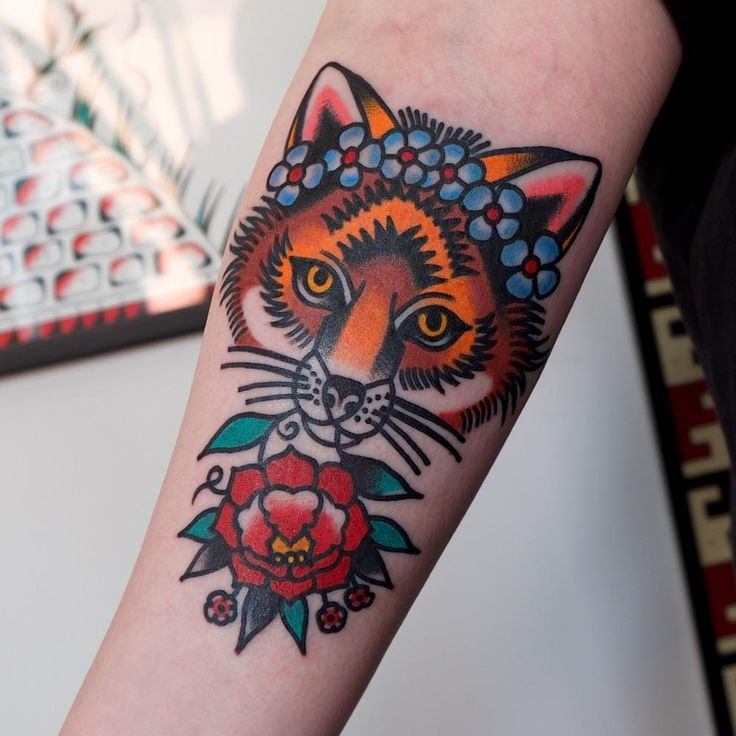 My new tattoo! Made by Electric Martina at Pretty Electric in Sweden. I love it.