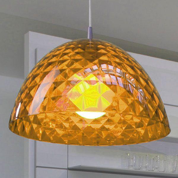 Koziol Stella M Hanging Lamp - Orange