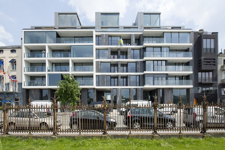Gallery of Apartments Jordaenskaai Antwerp / Crepain Binst Architecture - 1