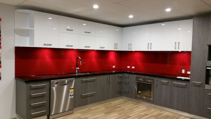 We have a large range of red samples to suit any Perth kitchen. www.asplashofglass.com.au
