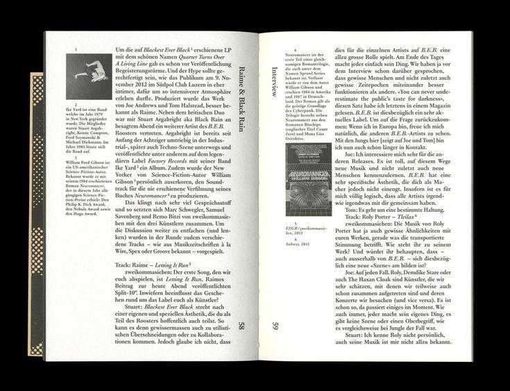 zweikommasieben Magazin #6 on Behance