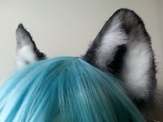 wolf ears by woodlandcreatureshop on Etsy