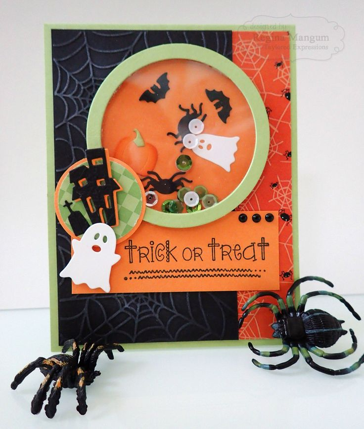Halloween Shaker Card by Regina Mangum