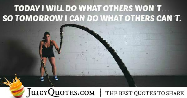 Quote About Fitness - 4