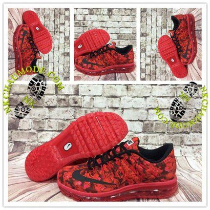 Mode | Nike Chaussure Sport Air Max 2016 Homme Rouge Rosh