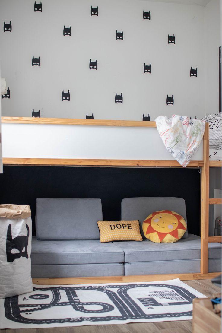 Mit einem Nugget unter dem Ikea Kura Bett
