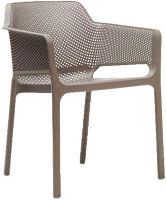 #Unisex #Kunststoff #Gartenstuhl #Ella #stapelbar #taupe Ob für den privaten Wohnbereich oder für den Gastronomiebereich – mit diesem Gartenstuhl ´´Ella´´ liegen Sie immer richtig: er vereint zeitlose Eleganz mit hohem Sitzkomfort. Die bequeme Sitzschale ist körpergerecht geformt während Sitzfläche und Rückenlehne mit einem atmungsaktiven Gittermuster überzeugen. Da er mit anderen Stühlen stapelbar ist, handelt es sich um einen sehr platzsparenden Gegenstand. Der Stuhl besteht aus einem…