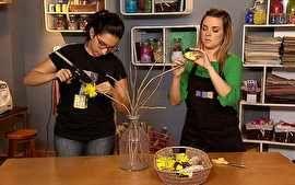 Lindo vaso com flores de papel - Vídeos - Decora - GNT