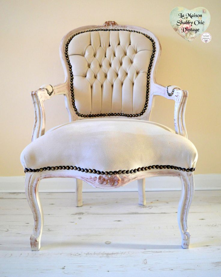 FREE Delivery Hand Painted Carved Ornate French Velvet Louis Armchair Neutral Side Hall Shabby Chic by LaMaisonShabbyChic on Etsy