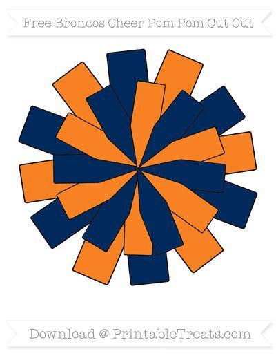 Orange Clipart Pom Poms 14 Cricut Cheer Pom Poms Cheer Blue Cheer