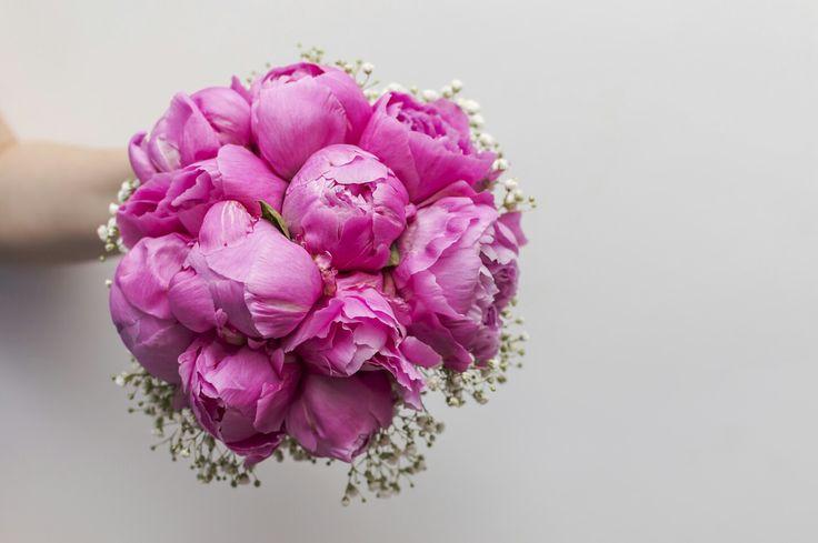 Buchet bujori roz