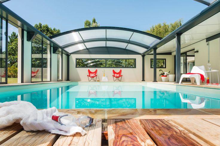 #Abri piscine dôme #UP - plaisir de l'#eau
