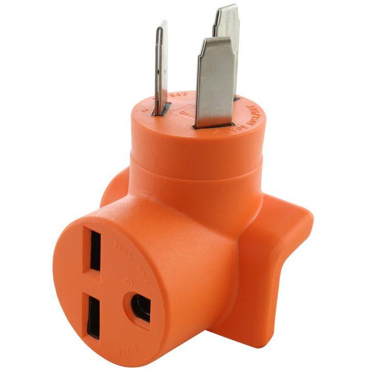 Ac Works Nema 10p 50p 50 Amp 3 Prong Plug To Nema 6 30r 30 Amp 250 Volt Commercial Hvac Ad1050630 Dryer Plug Commercial Hvac Plugs