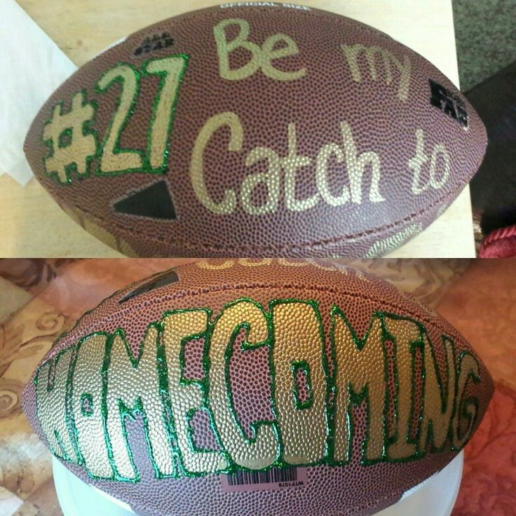 Asking my football player to Hoco ❤  #football #homecoming #proposal #cute…